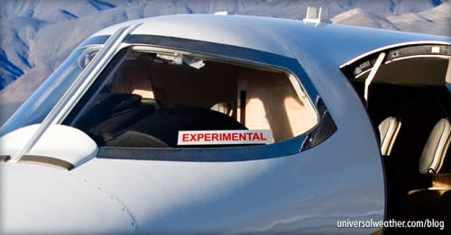 Experimental Aircraft Airworthiness Certificate