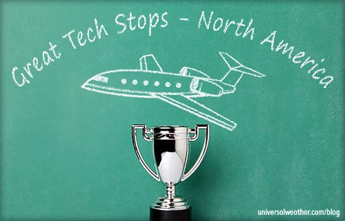 Great Tech Stops for Business Aviation - North America