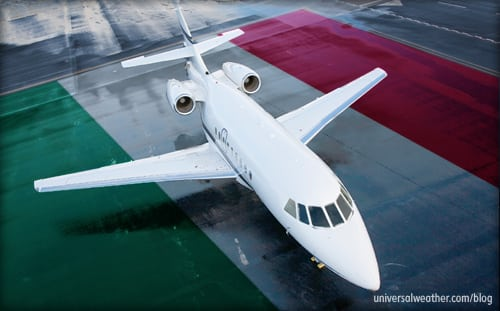 Business Aircraft Operations into Italy