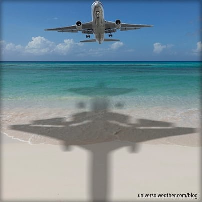 Business Aviation Travel in the Caribbean during Peak Season