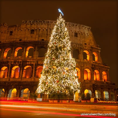 Business Aircraft Operations to Rome during the Christmas Holidays