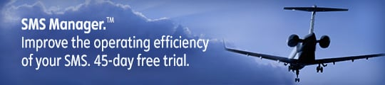 Sign up for a free trial on SMS Manager - Aviation Safety Management System (SMS) Software