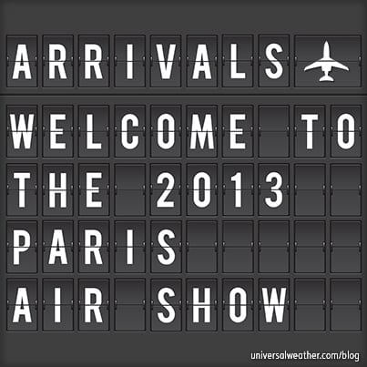 Paris Air Show 2013 - Start Planning Now