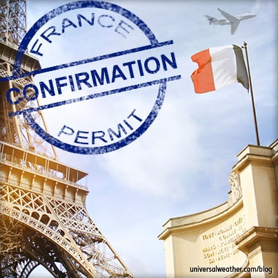 Tips on Flight Permits/PPRs for France