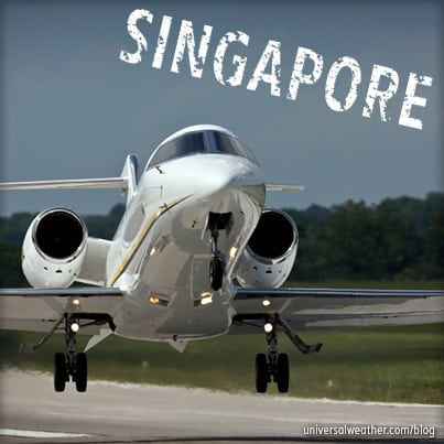 Charter Landing Permit Changes for Singapore