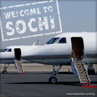 Winter Olympics 2014 in Sochi, Russia - Business Aviation Tips: Part 2 - Permits, Handling & Security