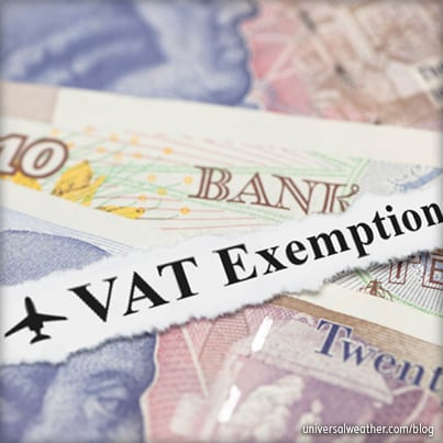 VAT exemptions on Jet A-1 fuel in Europe