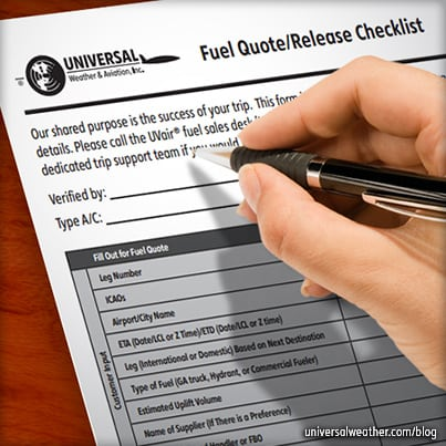 The Jet Fuel Checklist for International Business Aviation Trips
