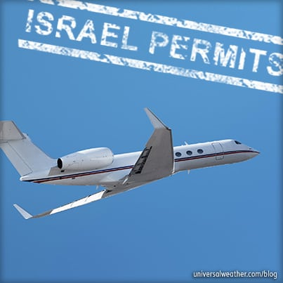 Business Aviation Trip Planning Tips: Operating to Israel Part 2 – Operational Requirements
