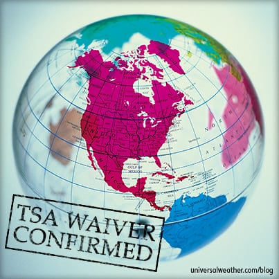 Buisness Aviation Trip Planning Tips: TSA Waivers – Part 1: Knowing When to Apply for One