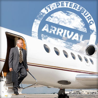 Business Aviation Ops to St. Petersburg: Part 2 - Aircraft Parking, Services, and Security
