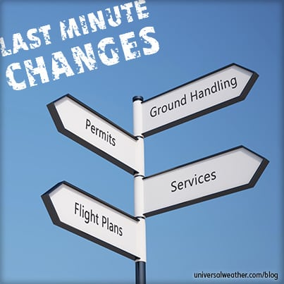Last Minute Trip Changes: How They Can Affect Your Business Aviation Trip