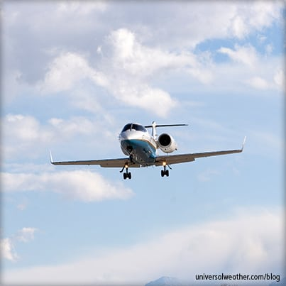 Weather Pressure Systems and Business Aviation