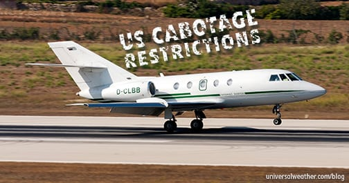 U.S. Cabotage Restrictions – non-U.S. Business Aircraft Considerations