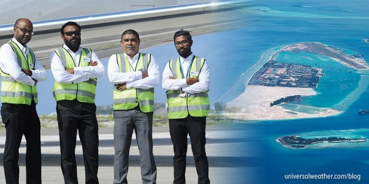 Chairman's Note: Universal Aviation Maldives! Operations begin November 2018!