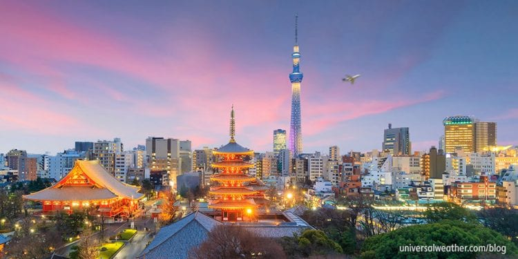 AVIATION OPS UPDATE FOR JAPAN: NEW TOURIST TAX