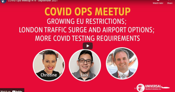 [VIDEO] GLOBAL COVID ENTRY RESTRICTIONS UPDATE, September 2021