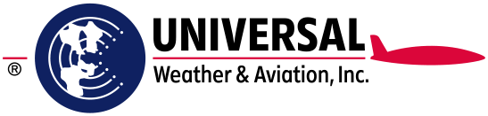 Universal Weather and Aviation logo