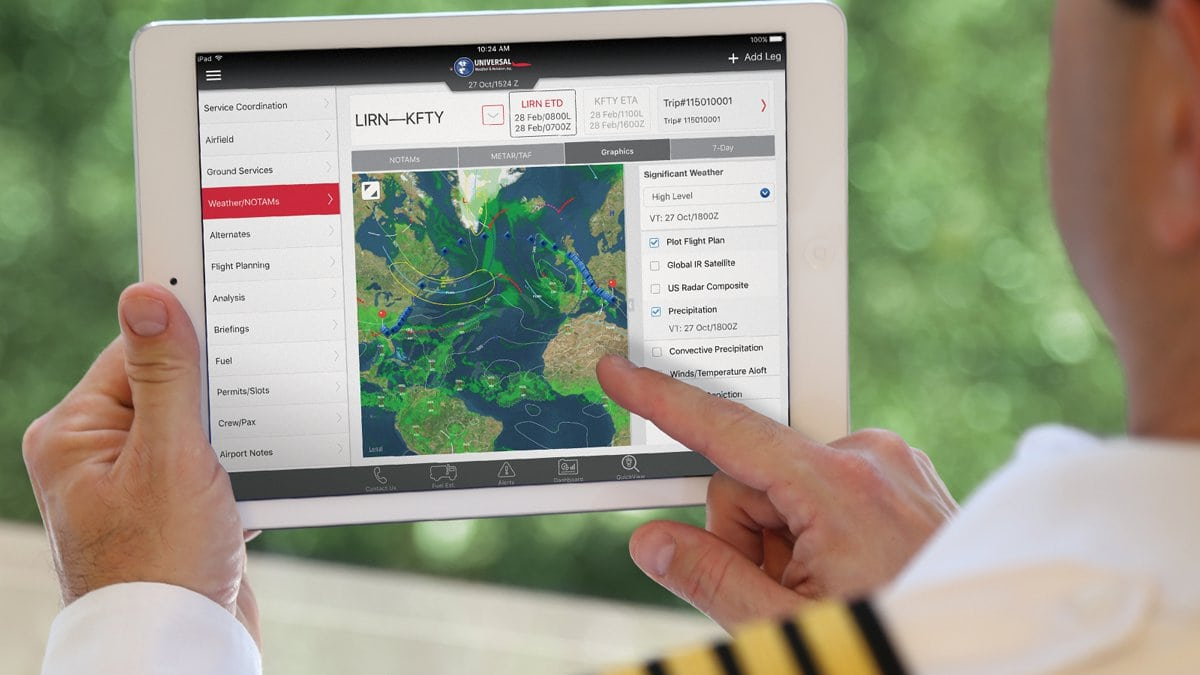 Universal®: Online Flight Planning Software | International
