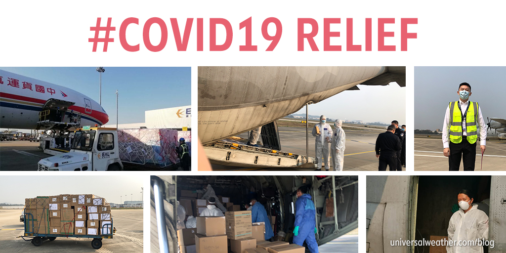 Universal Supporting Humanitarian Medical Supply Missions During the COVID-19 Crisis